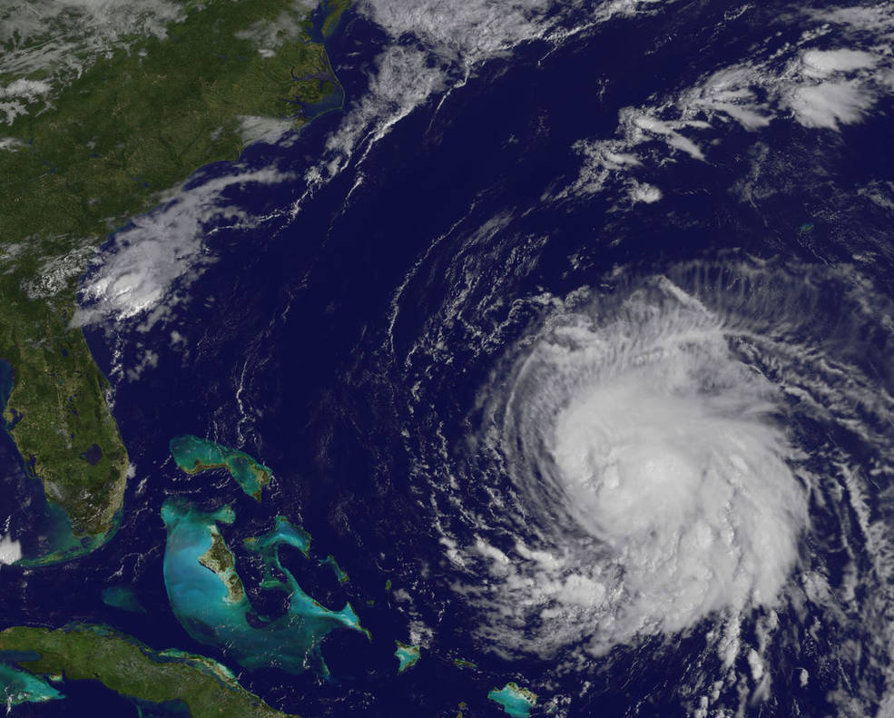 satellite photo of hurricane jose on september 15, 2017