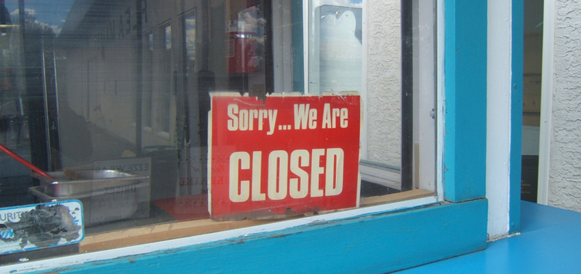 Store Closed from Problems